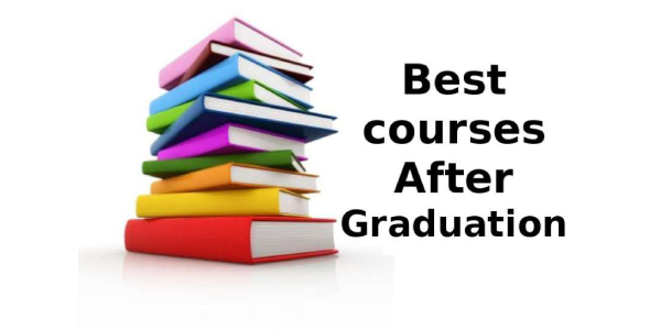 An Image Full Of Books With The Text That Shows Best Courses After Graduation.