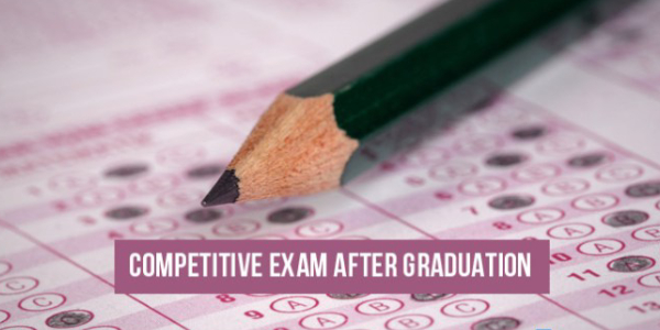 An OMR Sheet Display For Competitive Exam Opportunities After Graduation.