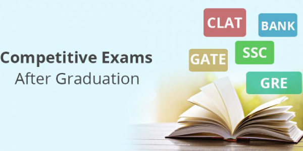 Competitive Exams After Graduation - Career Option Concept.