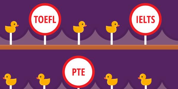 Distinguish Between IELTS, TOEFL And PTE.