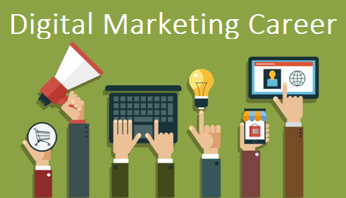 Multiple Hands With Electronic Gadgets And Keyboard Representing The Digital Marketing Concept.