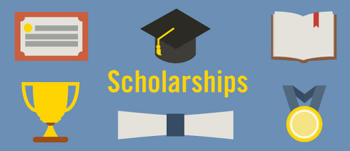 Various Scholarship Options Available For Higher Studies Concept..